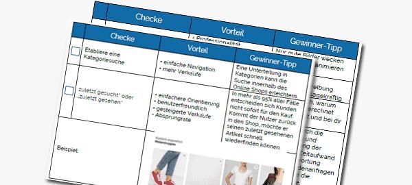 Evolve-Beratung-Checklisten