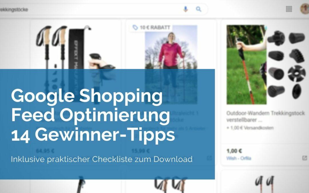 Google Shopping Feed Optimierung