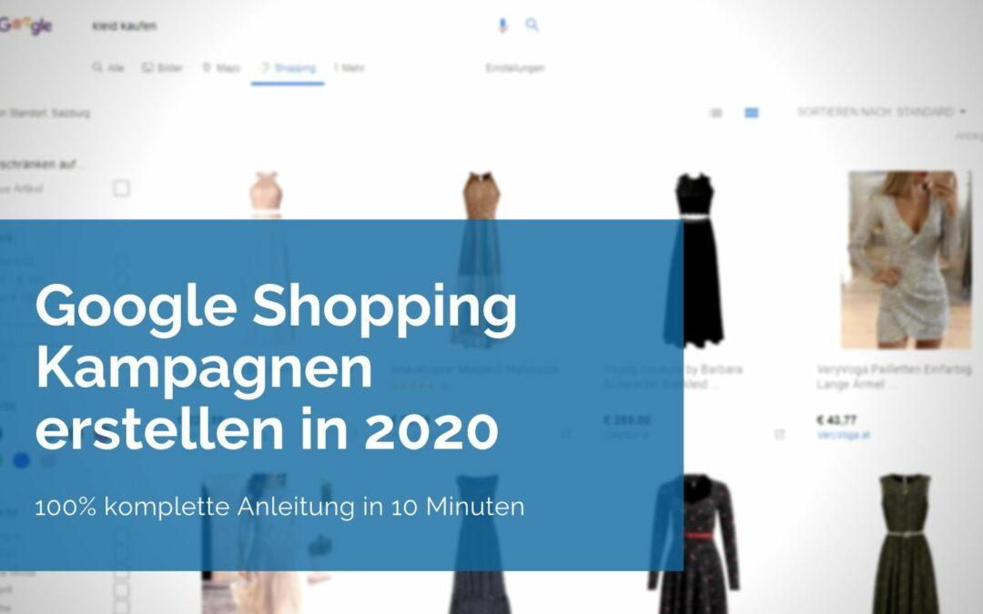 Google Shopping Kampagne Banner Blogpost